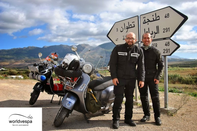 Στο δρόμο προς Chefchaouen