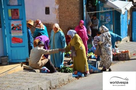Στην αγορά της Chefchaouen
