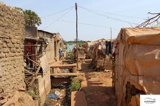 Slums in Bamako