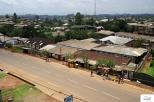 Η πόλη της Bamenda από το μπαλκόνι του ξενοδοχείου μας.