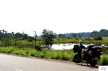 The beautiful scenery on the road from Ouesso to Brazzaville was a really pleasant surprise / Το πρώτο Congo και η διαδρομή από Ouesso ως Brazzaville, ήταν η μεγάλη έκπληξη σε ομορφιά!