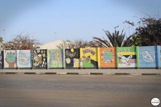 Το Swakopmund Youth Hostel με φιλοξένησε για κάτι περισσότερο από 2 βδομάδες. Ήταν τόσο φθηνό (1,4€/βραδιά στη σκηνή) που δεν μπόρεσα να αντισταθώ σε ένα μικρό διάλειμμα.