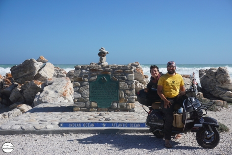 Cape Aguhlas - The southernmost point of Africa!