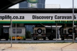 You can see stores like this everywhere in Pretoria. People here love whatever is about nature and travel / Παντού στην Ν.Α. βλέπεις τέτοια μαγαζιά. Οι άνθρωποι εδώ έχουν πάθος με ότι έχει να κάνει με το ταξίδι και την φύση.