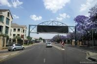 Driving in Pretoria / Οδηγώντας στην Πρετόρια