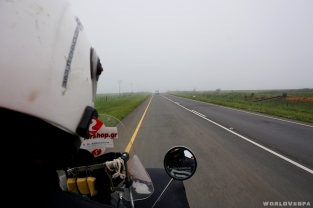 Driving to Durban...thick fog and maximum speed at 40km/h! - Οδηγώντας προς Ντέρμπαν με τρελή ομίχλη και μάξιμουμ ταχύτητα 40km/h!
