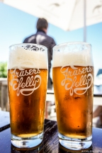 """The best beer, """"Fraser's Folly"""" from a local brewery! - Ίσως η καλύτερη μπύρα - Fraser's Folly - που έχουμε πιεί!"""