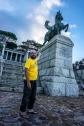 Alexander the Great in Cape Town?!?! (ok, statue of Cecil Rhodes at Rhodes Memorial) - Άγαλμα του Μεγάλου Αλεξάνδρου και στο Κέιπ Τάουν. Αιλλινυσμώς παντού! (άγαλμα του Cecil Rhodes στο Rhodes Memorial)