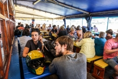 In Kalk Bay, the most famous restaurant's owner is...Greek! (Kalky's – fish 'n' chips) - Στο Kalk Bay η πιο γνωστή ταβέρνα ανήκει σε...Έλληνα! (Kalky's- fish 'n' chips)