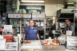 In Kalk Bay, the most famous restaurant's owner is...Greek! (Kalky's – fish 'n' chips) - Στο Kalk Bay η πιο γνωστή ταβέρνα ανήκει σε...Έλληνα! (Kalky's- fish 'n' chips)