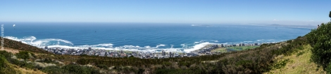 The view of Cape Town from Signal Hill - Το Κ.Τ. από ψηλά (Signal Hill)
