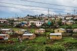 Slums on our way to Durban - Φτωχογειτονιές στο δρόμο για Ντέρμαν