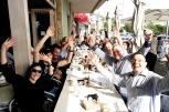Coffee with the Johannesburg Vespa Club members / Πρωινός καφές με τους βεσπάκιδες του Γιοχάνεσμπουργκ