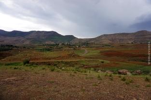 Our first kilometers in Lesotho / Τα πρώτα χιλιόμετρα στη χώρα