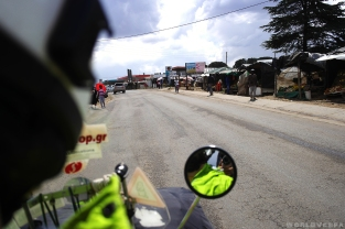 Pictures from the road to Ha Lejone / Εικόνες απ' τη διαδρομή ως το χωριό Ha Lejone