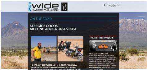 piaggio web magazine