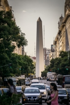 "The ""Obelisco"" from a different angle"