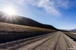 The quality of the road is not the best, but even a vespa can make it / Η ποιότητα του δρόμου δεν είναι και η καλύτερη, αλλά ακόμα και μια βέσπα μπορεί να περάσει με σχετική άνεση