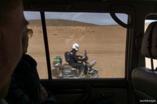 "The historical meeting with the ""dusted rider"" / Η επική συνάντηση με τον ""σκονισμένο καβαλάρη"""