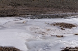 Freezing cold: the water of the springs had become ice – Είχε κάμποσο κρύο: το νερό των πηγών είχε γίνει παγάκι