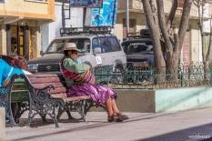 The central square of Uyuni / Στην κεντρική πλατεία