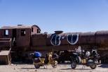 The Train cemetery just outside the town of Uyuni / Νεκροταφείο τραίνων λίγο έξω από το Uyuni
