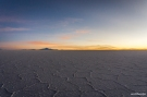 The sunrise at the Salar de Uyuni / Ξημέρωμα στο Uyuni salar