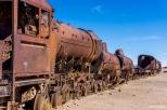 The Train cemetery just outside the town of Uyuni / Νεκροταφείο τραίνων λίγο ετέξω απ' το Uyuni