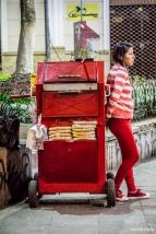 """Street pizza vendor / Πίτσα """"του δρόμου"""""""