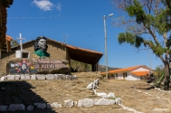 The whole village was dedicated to El Che / Όλο το χωριό ήταν αφιερωμένο στον Che