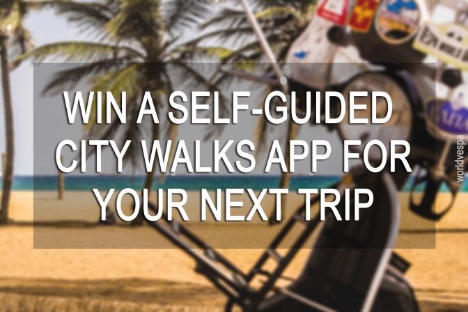 WIN a self guided city walks app