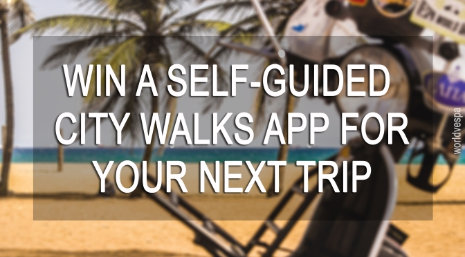 WIN a self guided city walks app